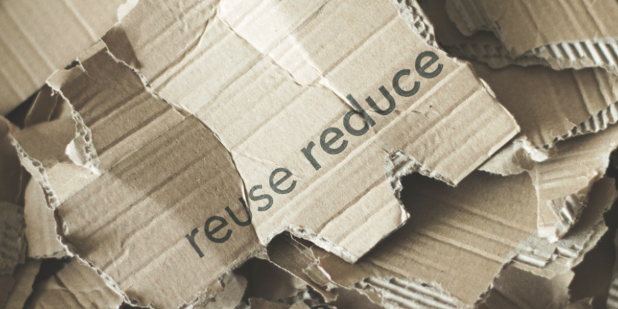 cardboard to be recycled