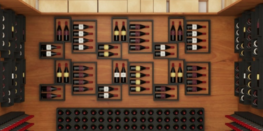 wine cellar display